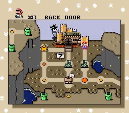 Back Door - Super Mario World Speedrunning Wiki